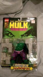 1996 Toybiz Toy Biz Incredible Hulk Rampaging MOC MINT Series 1 Brick Wall