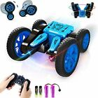 Free To Fly Remote Control Stunt Car for Kids: Double Sides 360° Flip RC Race C