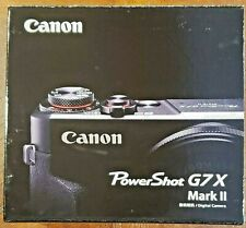 Int'l Model Canon PowerShot G7X Mark II 20.1 MegaPix Bundle New Fast Free Ship!