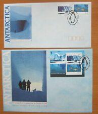 Russia, Australia- Soviet Cooperation in Antarctica 1990, 2Fdc