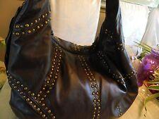 Rafe New York Leather Studded Hobo , Below Retail!