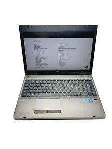 """HP ProBook 6560b 15.6"""" i5-2410M@2.30GHz 4GB RAM No HDD No Battery Rsl*1366 x 768"""