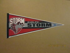OHL Guelph Storm Circa 2015 Logo Hockey Pennant