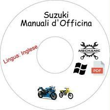 SUZUKI Moto/Scooter - Guida Manuali d'Officina - Riparazione e Manutenzione!