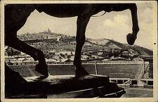 Bologna Italien Italy ~1930 Il Littoriele Blick vom Reiterstandbild in die Arena