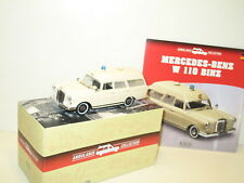 1/43 ATLAS, voiture ambulance MERCEDES BENZ 230 W110 binz
