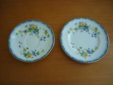 VINTAGE ROYAL DOULTON LEONIE BREAD & BUTTER PLATE & SAUCER ENGLAND