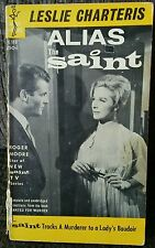 Alias The Saint Roger Moore Spy TV Series Tie In James Bond Out Of Print Rare!