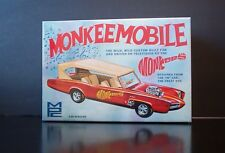 The MONKEEMOBILE 1:25 scale MPC retro kit Round2Models Hey Hey It's The Monkees