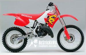 Kit restauro PERFETTO warning adesivi labels Honda cr 125 CR125 125R 1994 94