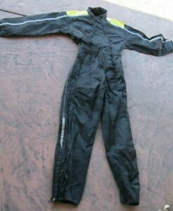 BMW Motorrad Mens Overall CoverAlls One Piece Rain Suit Size Large
