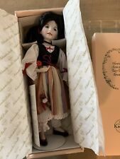 Knowles by Effner Snow White Porcelain Doll, Heroines Fairy Tale Forests #3292E