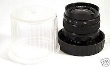 Mir-1V 1 V 1B 37mm f2.8 M42 USSR Russian Soviet Lens Nikon EOS Sony 4/3 CLEAN