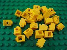 LEGO Lot of 25 Yellow 1x1 Headlight Brick Pieces