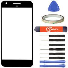 Glas für Google Pixel XL Schwarz Display Scheibe Frontglas + Werkzeugset