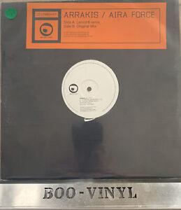 """Arrakis - Aira Force Rare Promo 12"""" Trance Vinyl Record EX"""
