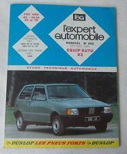 Revue technique EXPERT AUTOMOBILE 202 1983 Fiat Uno 45 45ES 55 70