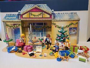 PLAYMOBIL 5496 Adventskalender/Weihnachtsabend-Vollständig/ Mit Panorama/TOP !!!