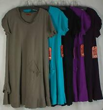 Oh My Gauze  LA DRESS Cotton size 2- Color Maple- NEW! Sale Lagenlook Tunic