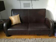 Solid Vintage/Retro Double Sofas