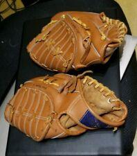 2x Baseball & Softball fielder's Mitts, All Pro, Flex Action,