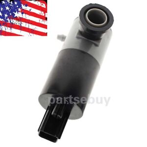 Windshield Wiper Washer Pump Motor For Ford F-150 Fusion Lincoln Chrysler Dodge