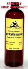 EUCALYPTUS LEMON ESSENTIAL OIL AROMATHERAPY 100% PURE NATURAL 32 OZ