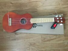 Saprano Ukulele Barely Used. Digital tuner and Aquila Strings