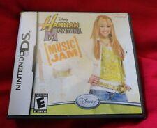 Hannah Montana Music JAM NINTENDO DS/DSi/3 DS/2 DS XL jeu Disney