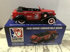 Sentry Hardware 1936 Dodge Convertible Sedan Locking Coin Bank 1/25th Scale NIB