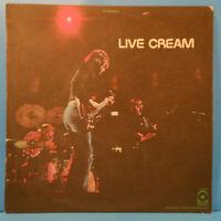 LIVE CREAM VINYL LP '70 ORIGINAL PRESS CLAPTON BRUCE NICE CONDITION! VG+/VG++!!A