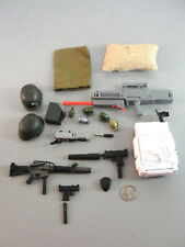 GI JOE WEAPONS RIFLE RADAR BACK-PACK GUN GRENADE HELMET COMBAT GEAR KNIFE LOT 22