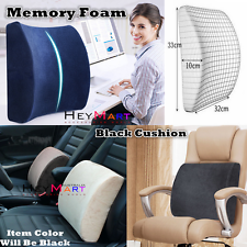 Memory Foam Lumbar Back Pillow Support Back Cushion Home Office Car Seat Chair