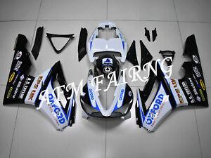 White Black ABS Injection Mold Bodywork Fairing Kit for Daytona 675 2009-2012