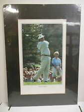 """Fred Couples Golfer Golfing Matted Photo 22"""" x 16"""" Matte 13"""" x 9"""" Photo"""