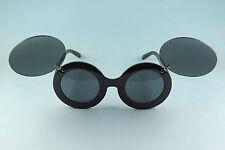 Lady Gaga Mickey Style Flip Sunglass - Black - Free Worldwide Shipping