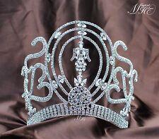 Tiara Crown For Women Rhinestone Pageant Diamante Headband Wedding Accessories