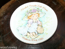 Cherished Moments Last Forever Mother Day 1981 Made in Japan Avon Plate