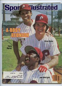 Sports Illustrated Rose Morgan Perez Phillies 1983 Herschel Walker USFL Debut