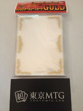 x1 pack Gold Character Sleeve Guard KMC Card-Barrier 60 ct sleeves mtg