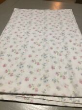 Simply Shabby Chic Candy Floral Pink Blue Flat Sheet Full Size