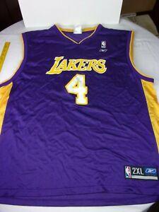 Luke Walton SIGNED Los Angeles Lakers Reebok RBK jersey XXL Vintage