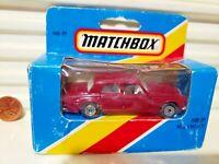 LESNEY MATCHBOX MB39B MAROON Rolls Royce Silver Shadow SilvrGrey Base Mint Boxed