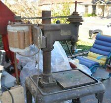 Drill press. Serivan  standing drill. Vintage.