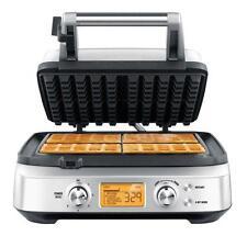 Gastroback 42421 Design Gourmet Advanced 1800W 4S Waffeleisen - Silber