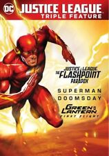 DCU Justice League: The Flashpoint Paradox / Superman Doomsday / Green Lantern