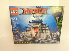 2017 Lego Ninjago Movie #70617 Temple of the Ultimate Ultimate Weapon Set MIP