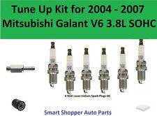 Tune Up for 2004 2005-2007 Mitsubishi Galant V6 PCV Valve Spark Plugs Oil Filter