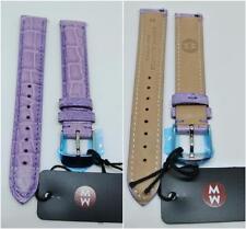 Michele 16MM LAVENDER Watch Band Strap Genuine Alligator Skin