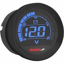 Koso North America - BA050310 - 2in. Volt Meter Gauge, Black